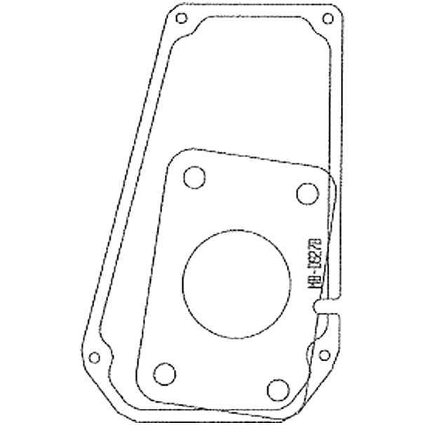 Staubox Kotflügel Einlegeboden B