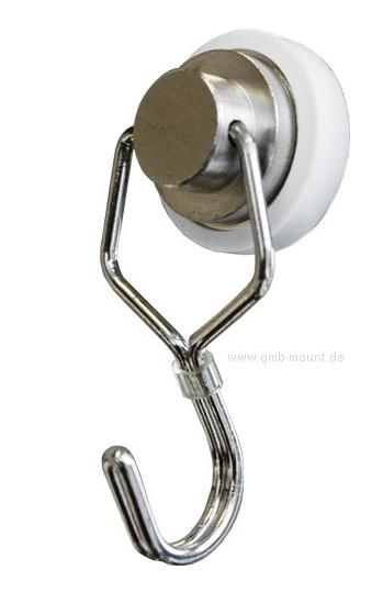 Magnet-Haken drehbar