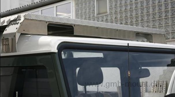 ESEL   Defender Blende 2 x LED schwarz
