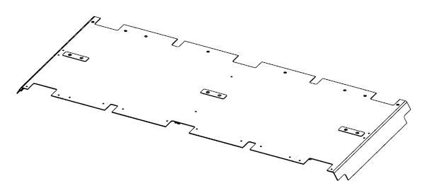 ESEL Modulplatte schwarz