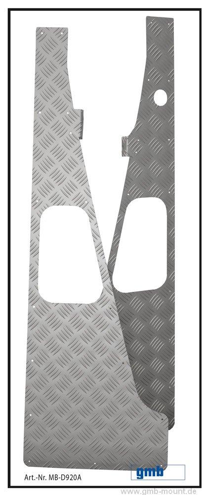 Verstärkung Kotflügel (Alu elox.)