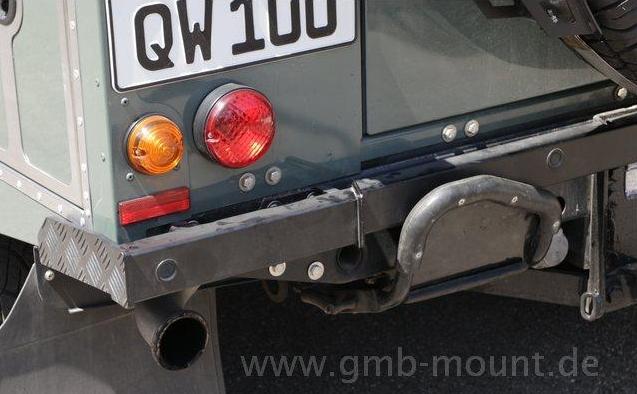 GMB Heckschutz mit PDC