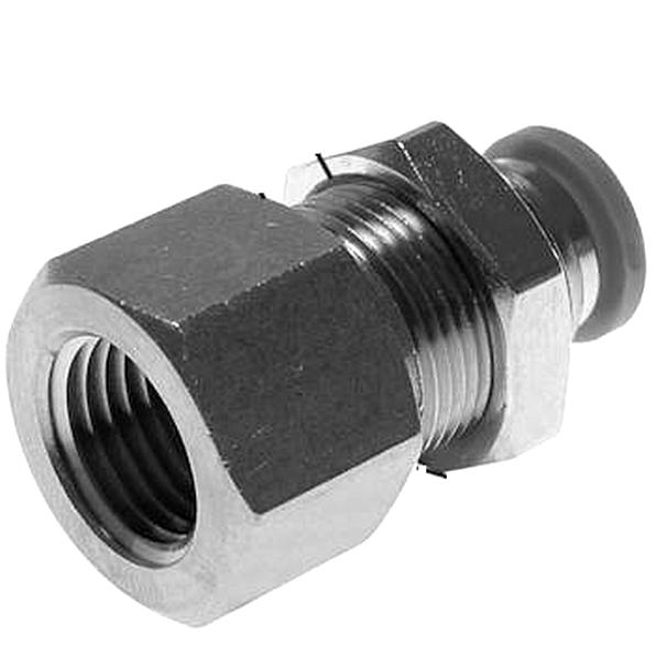 """IQS Anschluss 3/8""""  10mm Schott-Verschraubung M20x1"""