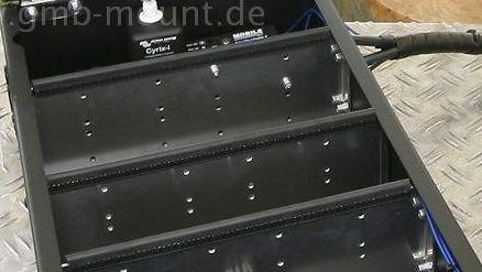 """Trennwand für """"Mittelbox"""" Aluminium inkl. Kantenschutz"""
