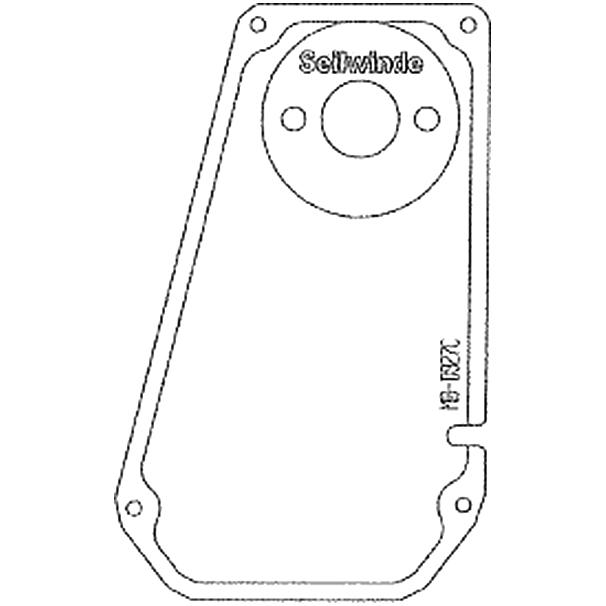 Staubox Kotflügel Einlegeboden C