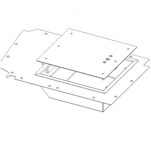 GMB Fußraumbox Rechts (Td4)
