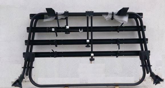 VW-Fahrradträger für Heckklappe T5  schwarz
