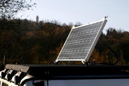 Halterung fürs Solar-Paneel
