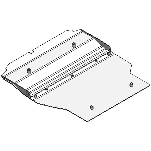 Unterbodenschutz Motor PRALLBLECH T5/T6