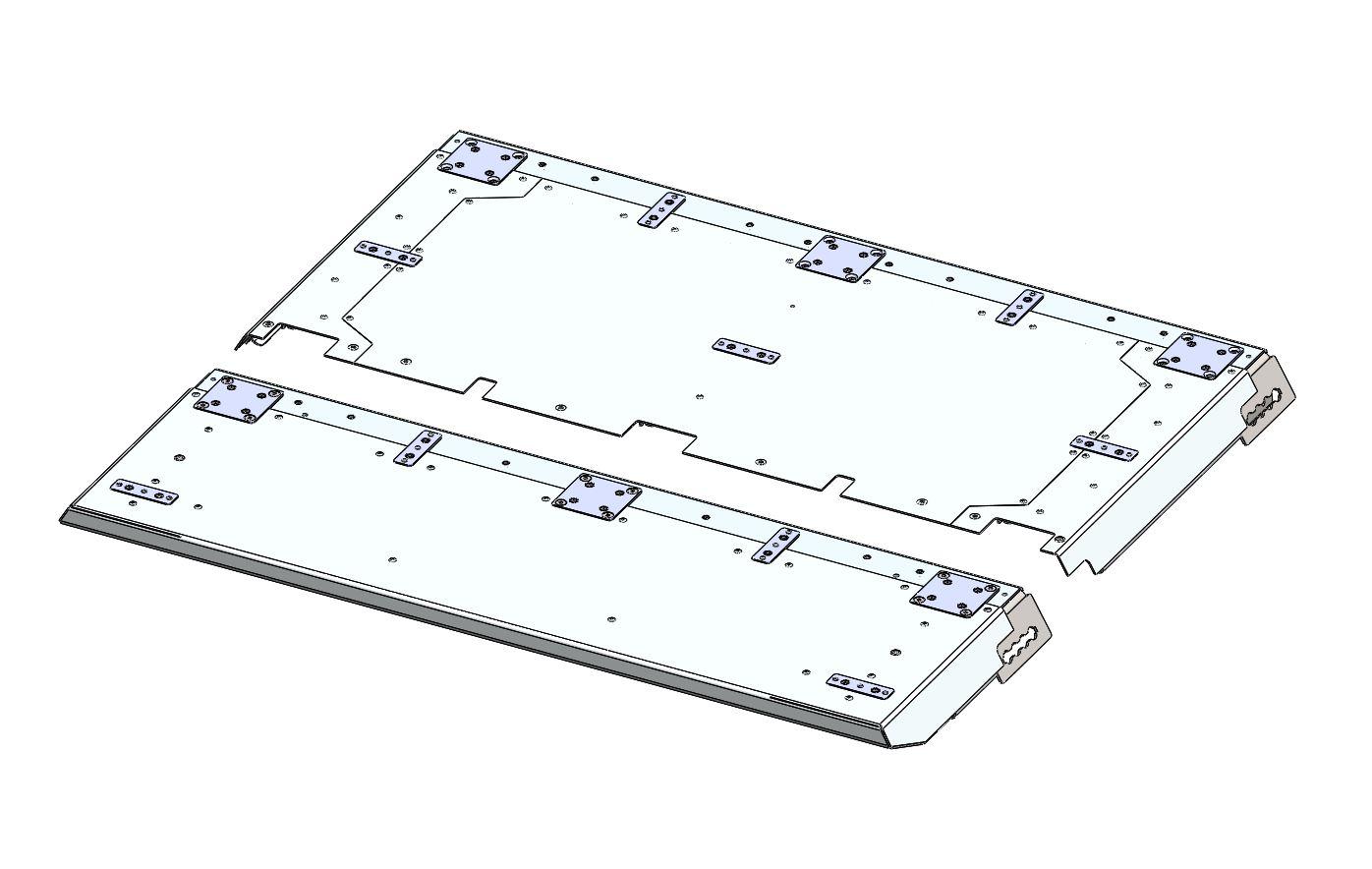 ESEL | Heckmodul komplett 970mm L-RS
